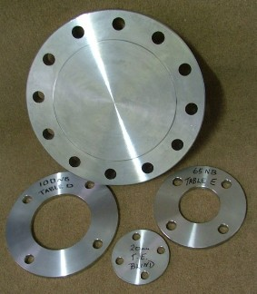 Table D, E & Blind Flanges