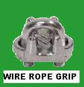 316 Wire Rope Grips. 2mm to 19mm available